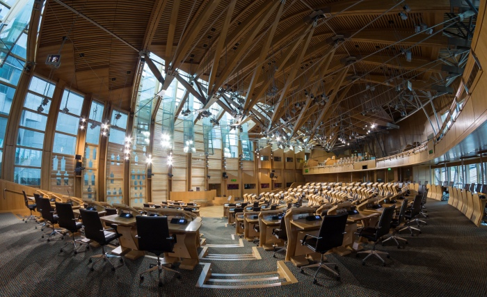 Scottish Parliament Debating Chamber 1