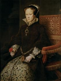 Mary I of England. Reign: 1553-1558