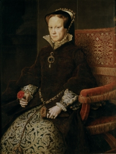Mary I of England. Reign: 1553-1558