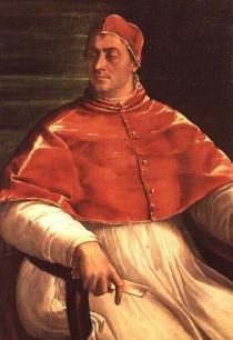 Pope Clement VII, head of the Roman Catholic Church from 1523 till his death in 1534