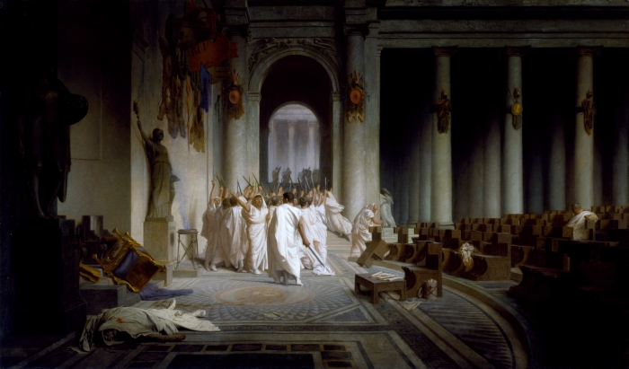 The Death of Caesar 44BC by JL Gerome.jpg