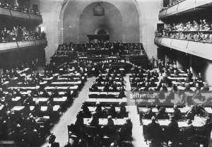the First session of the league of nations assembly