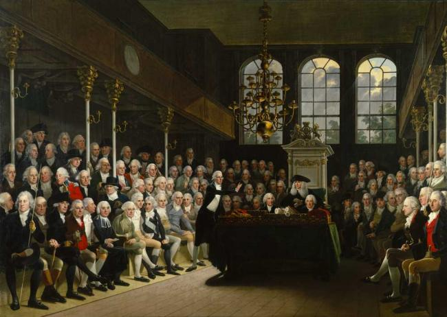 William-Wilberforce-in-Parliament