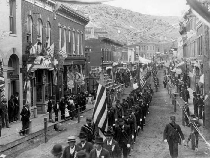 1890 4th of July Parade, Denver, Colorado.